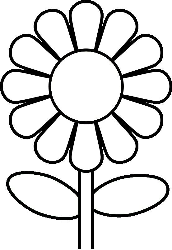553x800 Coloring Pages For Preschoolers Preschool Flower Coloring Pages