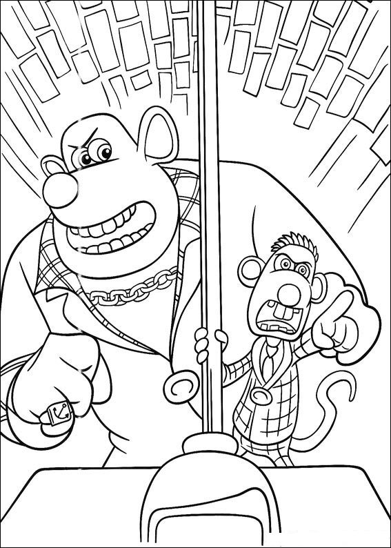 567x794 Kids N Coloring Pages Of Flushed Away