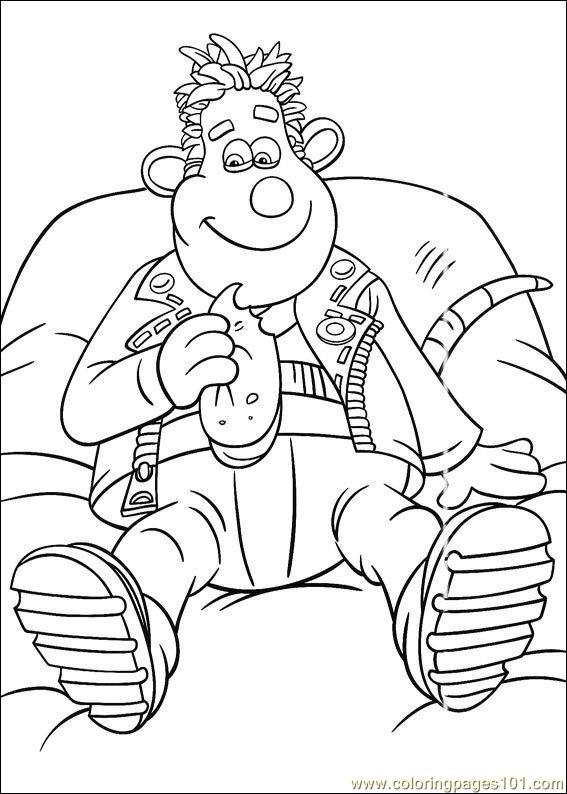 567x794 Flushed Away Coloring Pages