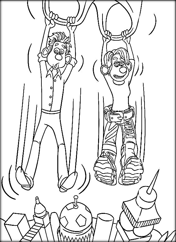 565x774 Flushed Away Coloring Pages