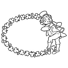 Flute Coloring Page