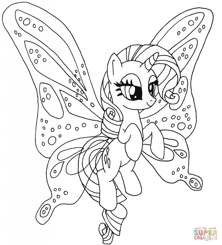 Fluttershy Coloring Pages At Getdrawings Com Free For Personal Use