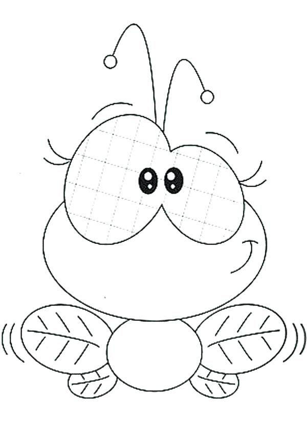 600x849 Fly Coloring Pages Fly Coloring Page Locca