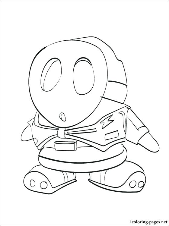 560x750 Fly Guy Coloring Pages Shy Guy Coloring Page To Print Pages Online