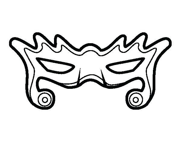 600x470 Fly Guy Para Colorear Modern Mask Coloring Page Dibujos Para