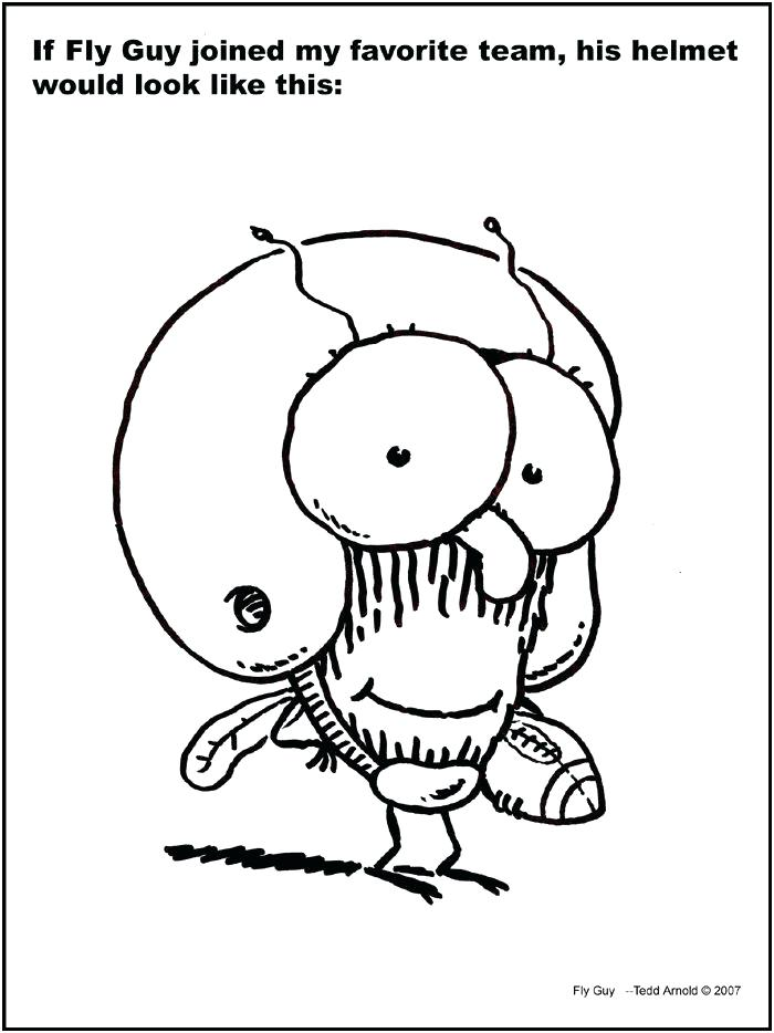 700x934 Hi Fly Guy Coloring Pages