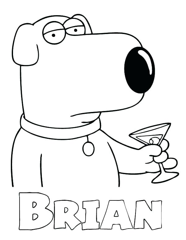 600x776 Family Guy Coloring Pages Family Guy Coloring Pages Fly Guy