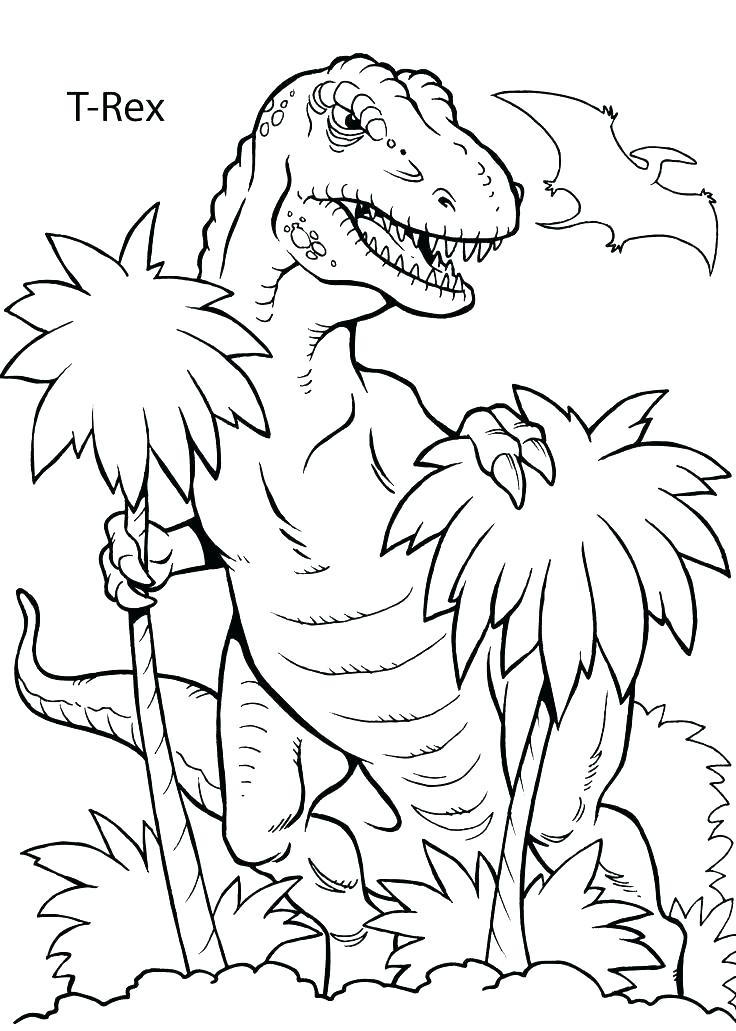 736x1031 Dinosaurs Printable Coloring Pages Flying Dinosaur Coloring Pages