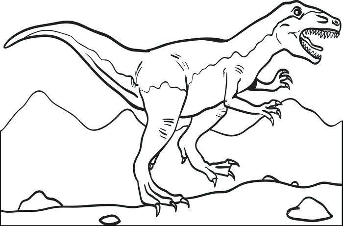 700x461 Ideas Dinosaur Coloring Pages For Kids For Free Printable