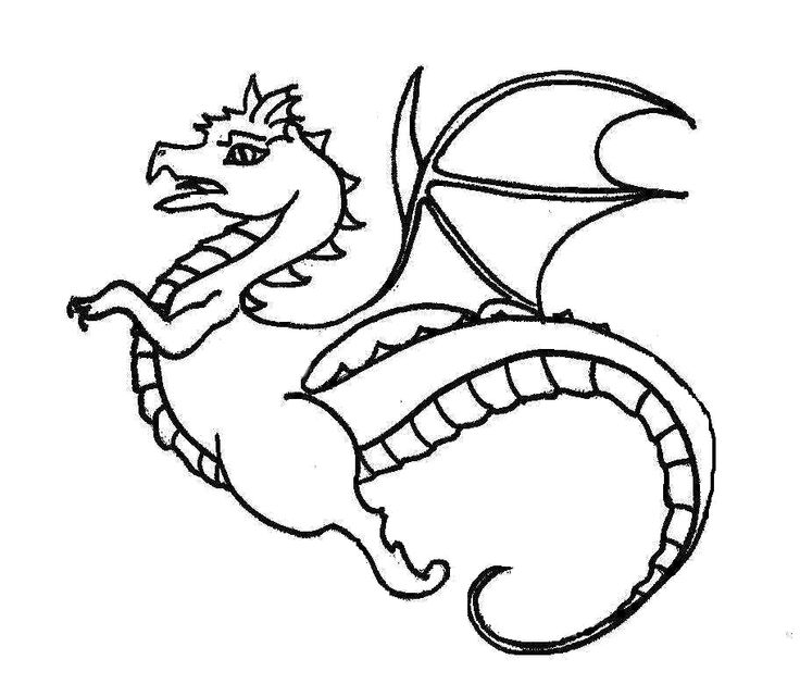 736x629 Fast Flying Dragon Coloring Pages