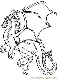 236x328 Nordic Dragon Coloring Pages