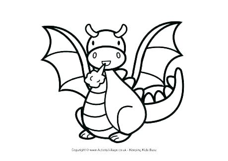 460x325 Coloring Pictures Of Dragons Idea Dragon Coloring Page For Dragon
