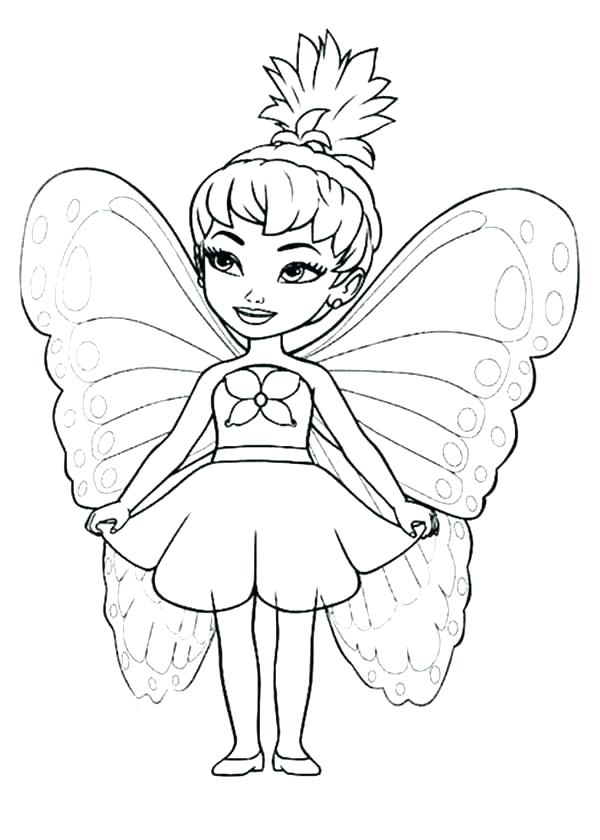 600x840 Fairy Coloring Fairy Coloring Page Fairy Magic Flying Fairy Magic