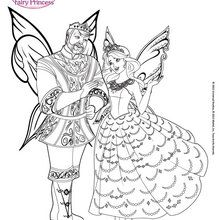 220x220 Catania Amazing Flying Fairy Coloring Pages