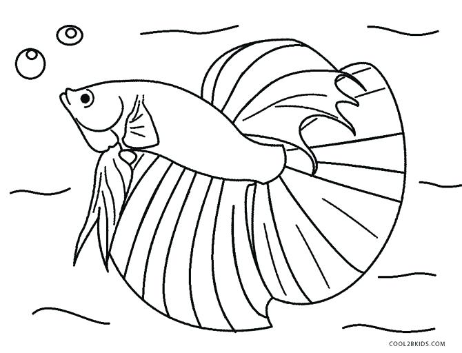 670x512 Flying Fish Coloring Page Fish Coloring Page Coloring Pages