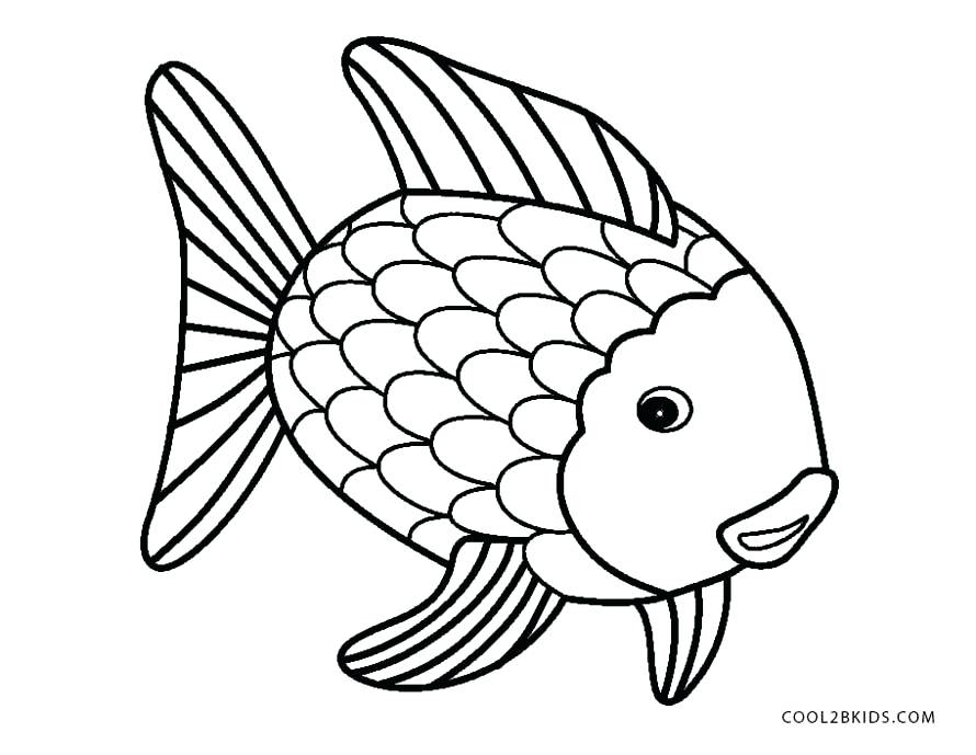 890x689 Flying Fish Coloring Page Rainbow Fish Coloring Page Coloring