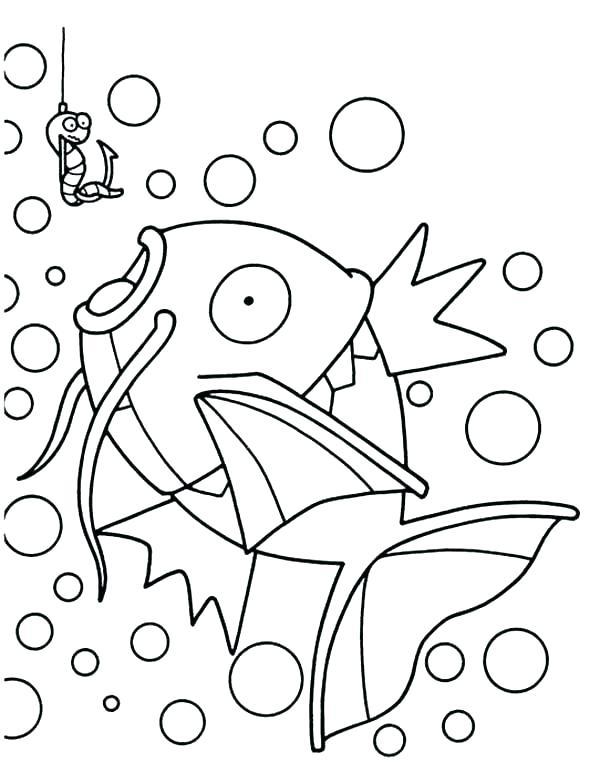 600x772 Coloring Fish Coloring Fish Fish Coloring Games Online