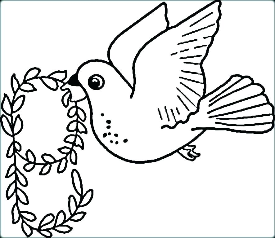 886x768 Coloring Pages Of Birds Flying
