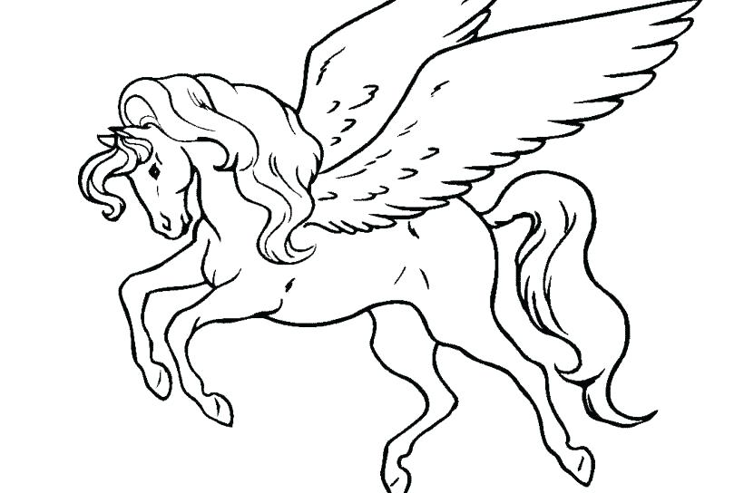820x544 Flying Horse Coloring Pages Horses Coloring Pages Spirit Stallion