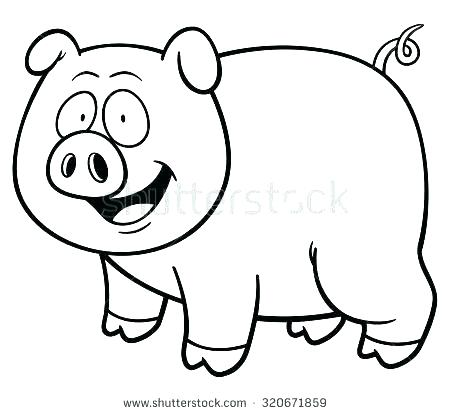 450x414 Fat Pig Coloring Page Super Fat Pig Coloring Page Super Peppa Pig