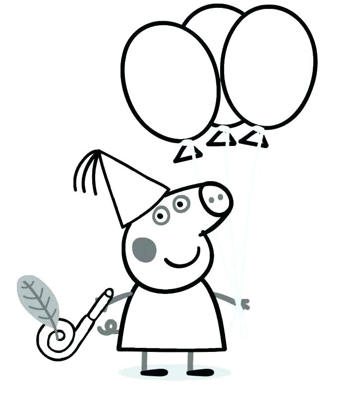 700x798 Pig Color Page Flying Pig Coloring Pages Peppa Pig Colouring Pages