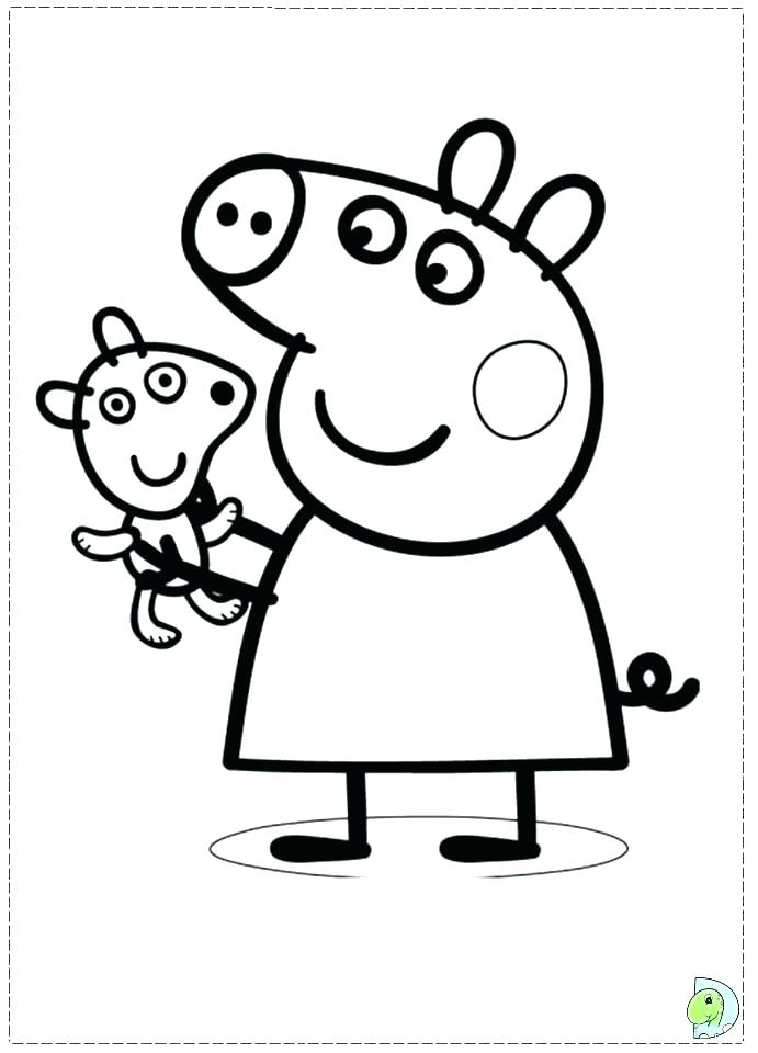 691x960 Pig Coloring Page Flying Pig Coloring Pages New Flying Pig