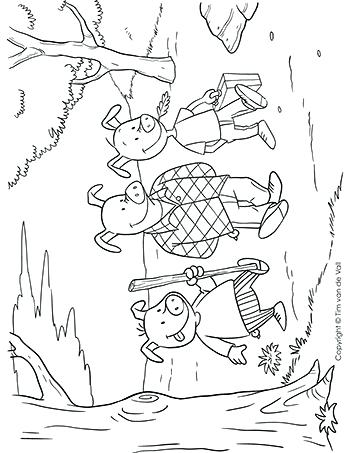 350x453 Flying Pig Coloring Page Three Little Pigs Coloring Sheet