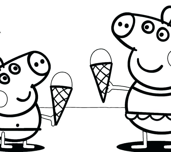 678x600 Pig Color Page Flying Pig Coloring Pages Peppa Pig Coloring Pages
