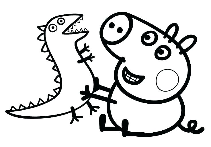 736x512 Coloring Page Pig Coloring Pages Of Pigs Pig Coloring Page Pig