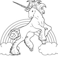 236x236 Unicorn Coloring Pages For Kids Bratz Coloring Pages Coloring
