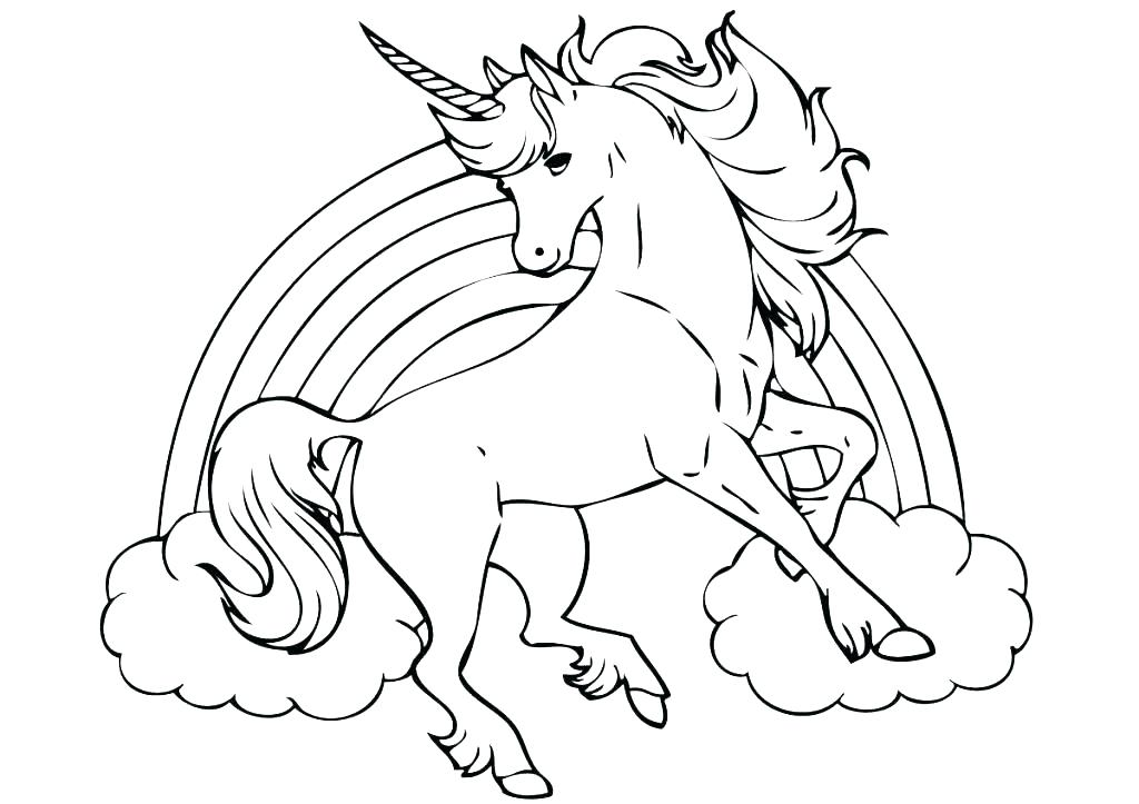 1024x723 Unicorn Printable Coloring Pages Unicorn Printable Coloring Pages