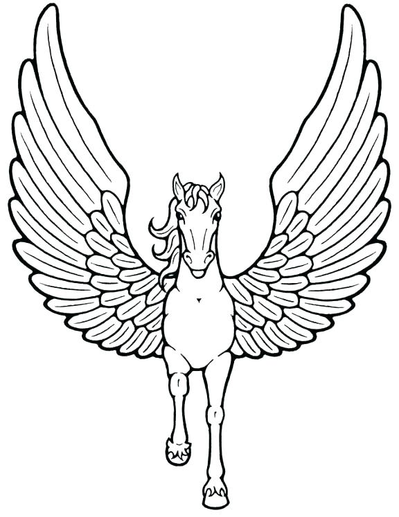 576x747 Unicorn Rainbow Coloring Pages Unicorn Rainbow Coloring Pages