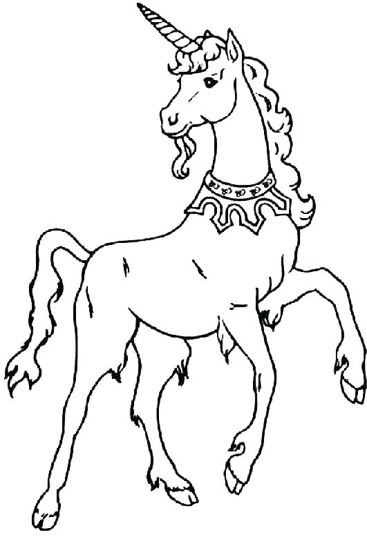 531x778 Printable Unicorn Coloring Pages Icontent