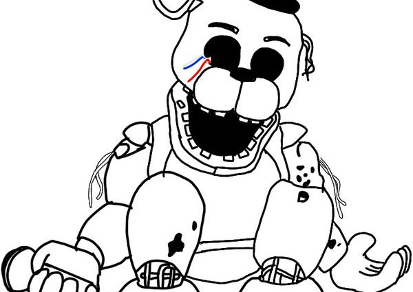 The Best Free Freddy Coloring Page Images Download From 453