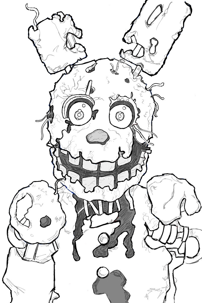 801x1198 Just Arrived Coloring Pages Five Nights At Freddy S Easy Gaming