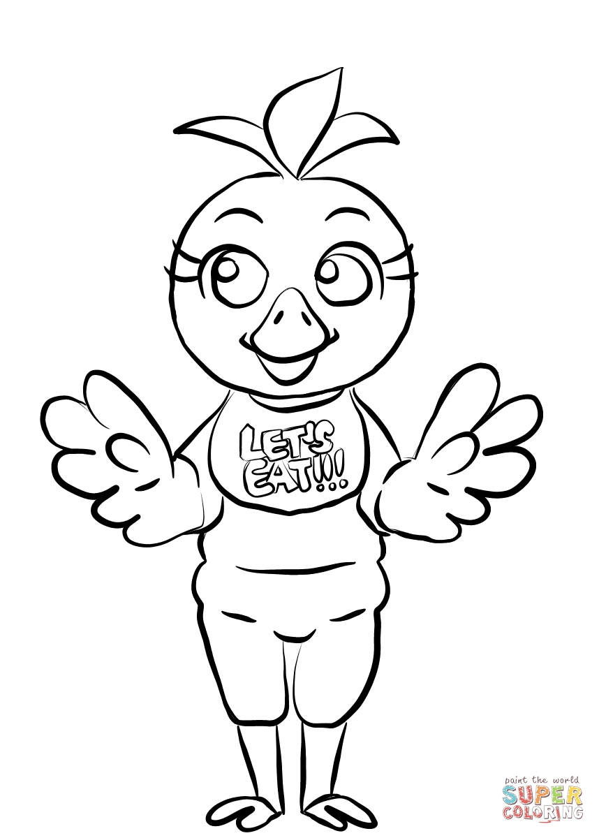 Fnaf Coloring Pages Bonnie
