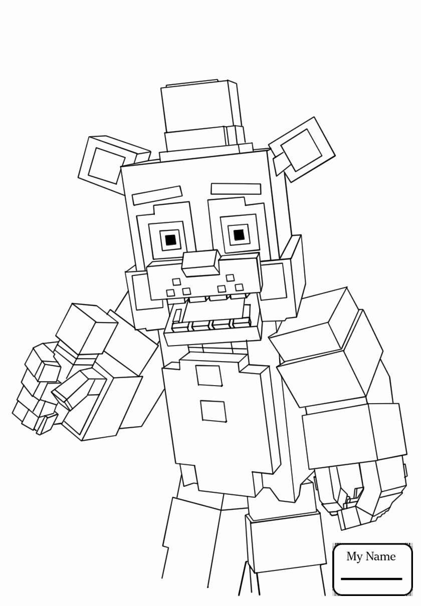 840x1210 Fnaf Coloring Pages All Characters Photos Five Nights