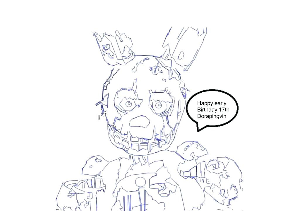 Various Five Nights At Freddy's Coloring Pages To Your Kids in ... | 720x960