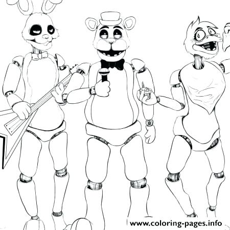 image regarding Fnaf Printable Coloring Pages identify Fnaf Coloring Internet pages Toward Print at  Cost-free for