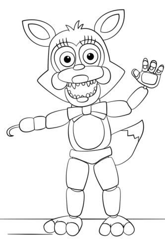 333x480 Mangle From Five Nights
