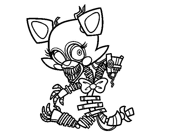 600x470 Mangle Coloring Pages Printable Free Coloring Pages