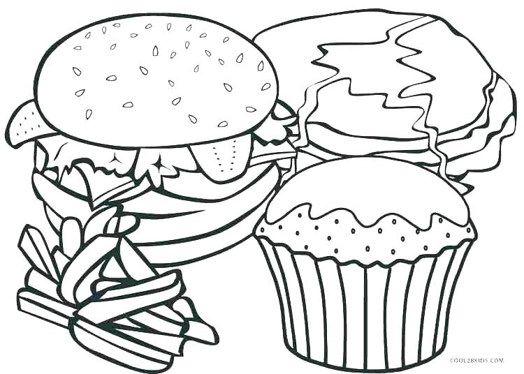 750x536 Coloring Food Coloring Pages Food Color Of And Drink Coloring