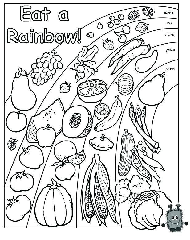 617x782 Printable Healthy Snacks Coloring Pages Printable Food Chain