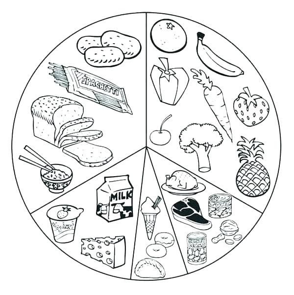 600x601 Food Coloring Pages Donuts Coloring Pages Printable Food