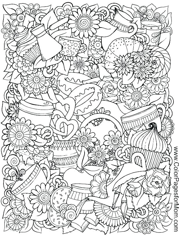 616x814 Food Coloring Pages Free Food Coloring Pages For Adults