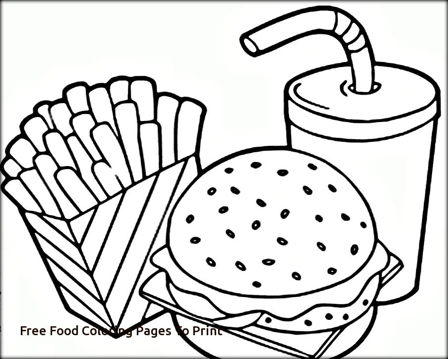 904x724 Free Food Coloring Pages Free Coloring Pages For Kids And Adults