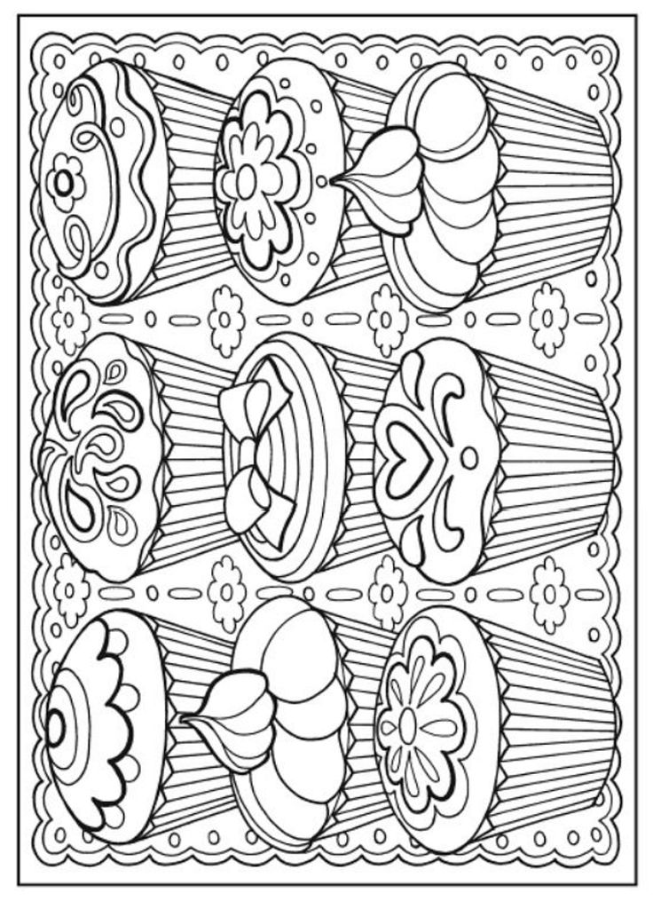 Food Coloring Pages For Adults At Getdrawings Com Free For