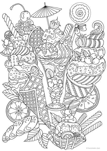 424x600 The Best Printable Adult Coloring Pages Adult Coloring, Coloring