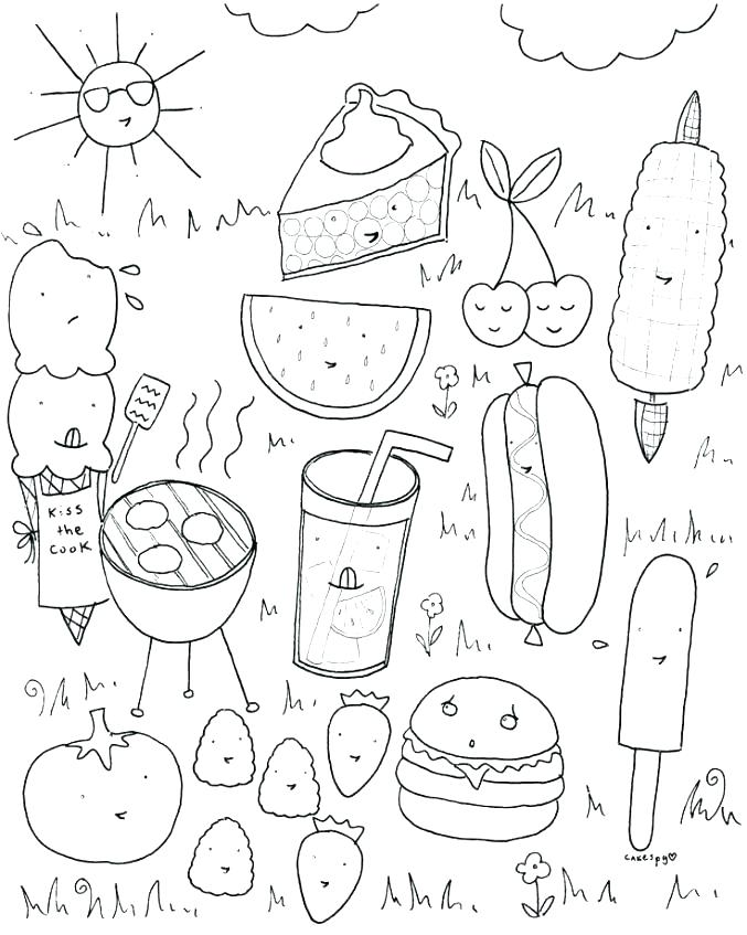 Food Groups Coloring Pages At Getdrawings Com Free For Personal