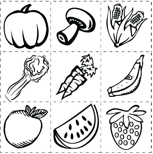 620x621 Healthy Food Coloring Page Healthy Food Coloring Pages Healthy
